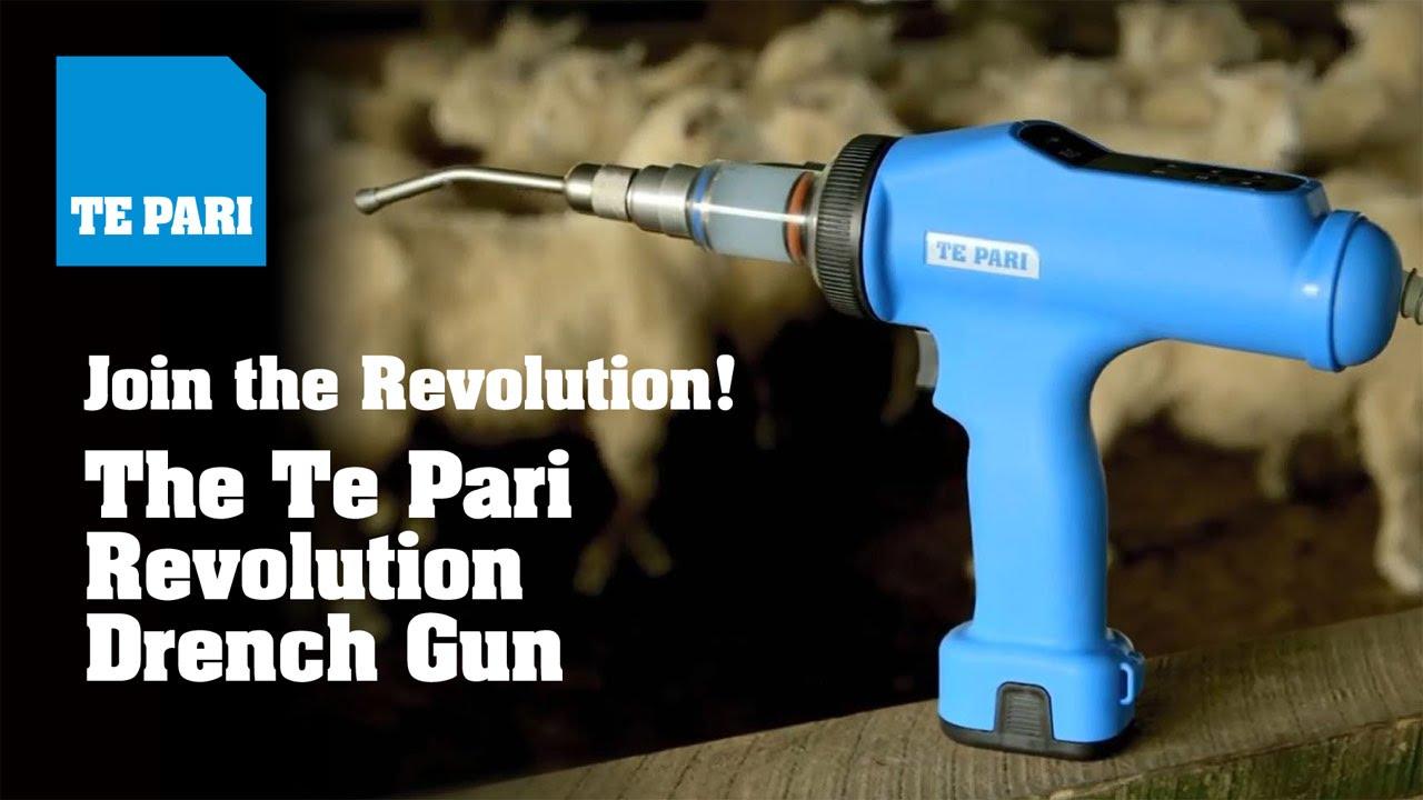The Te Pari Revolution Drench Gun Youtube