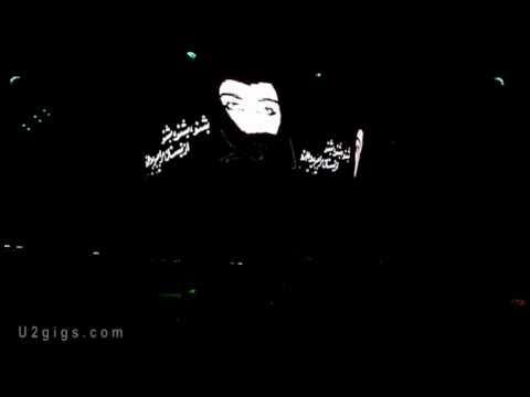 U2 Bono: Radio Tehran, We can hear You Sept 2010 Concert in Istanbul