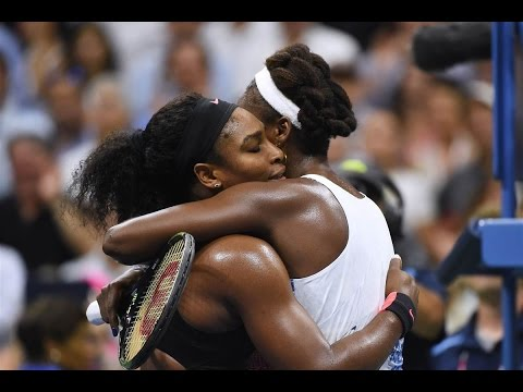 Serena Williams VS Venus Williams Highlight 2015 QF