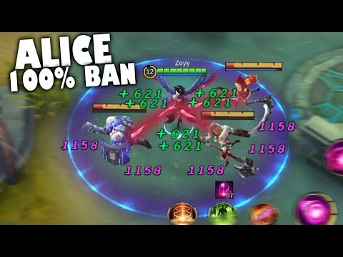 ALICE IS NEW META 100% BANNED MUST SEE!