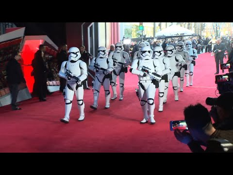 Star Wars: The Force Awakens Red Carpet
