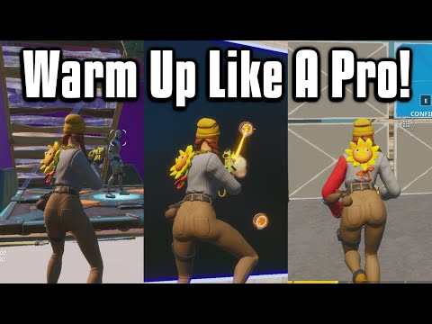 The BEST Warm Up For Console & PC! - Edit/Aim Courses In Fortnite Season 2!