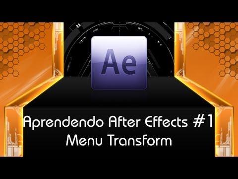 Aprendendo After Effects #1 - Funções Transform: Escala, Rotação, Posição e Opacidade