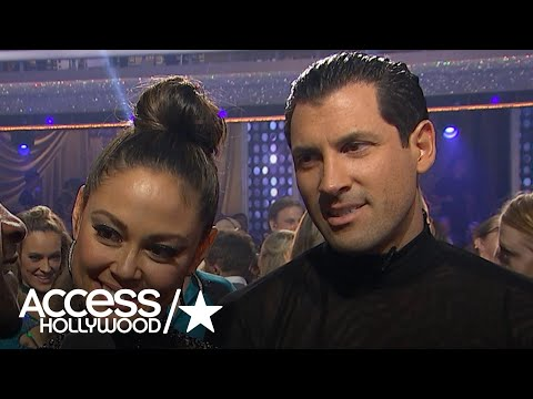 'DWTS': Maksim Chmerkovskiy & Vanessa Lachey On Those Baby Carriages