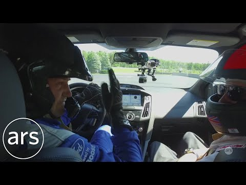 A hot lap and drifting with Ben Collins in a Ford Focus RS  Ars Technica