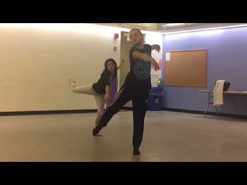 "Rehearsal of "" ISADORA"" * Choreography: Vladimir Varnava*Dancer:Natalia Osipova*Directed:Gina Ardani"