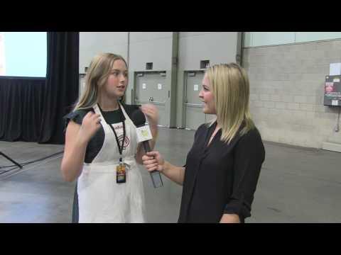 Sarah Lane, Master Chef Jr. - LA Cookie Con & Sweets Show 2017
