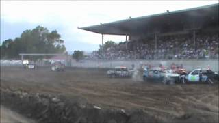 Central Montana Demolition Derby Lewistown 2012 Herby Derby