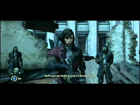 Dishonored - Knife of Dunwall DLC: Low Chaos Ending (Billie Lurk Dead + Alive Scene) |