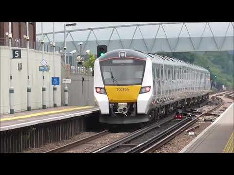 Trains at Three Bridges - Monday 5th March 2018