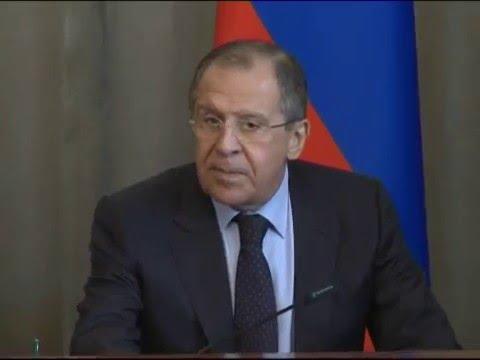Press Conference of Sergey Lavrov & Susana Malcorra   Пресс-конференция С.Лаврова и С.Малькорры