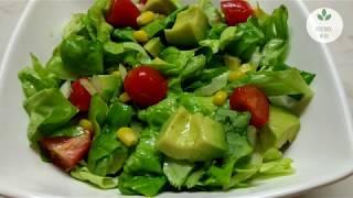 Салат с авокадо и лимонно-медовым соусом - ВКУСНО и ПОЛЕЗНО
