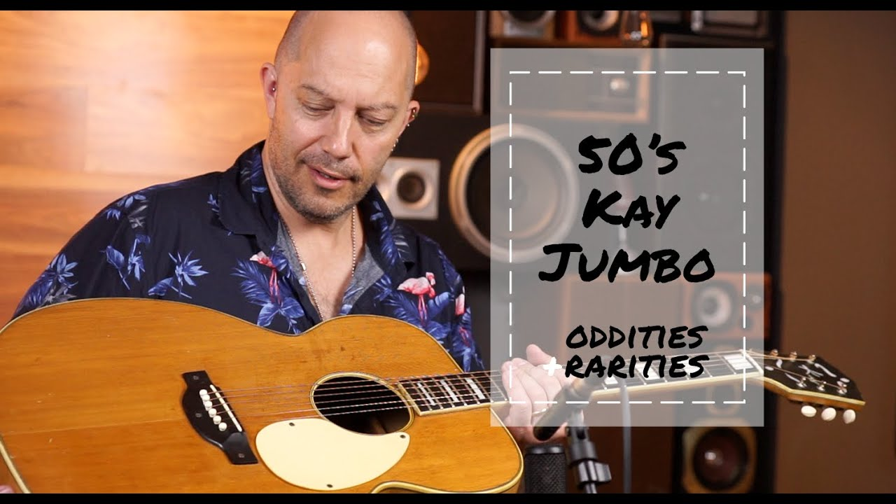 Oddities & Rarities - 1950's Kay K27 Vintage Jumbo Acoustic | Better Music