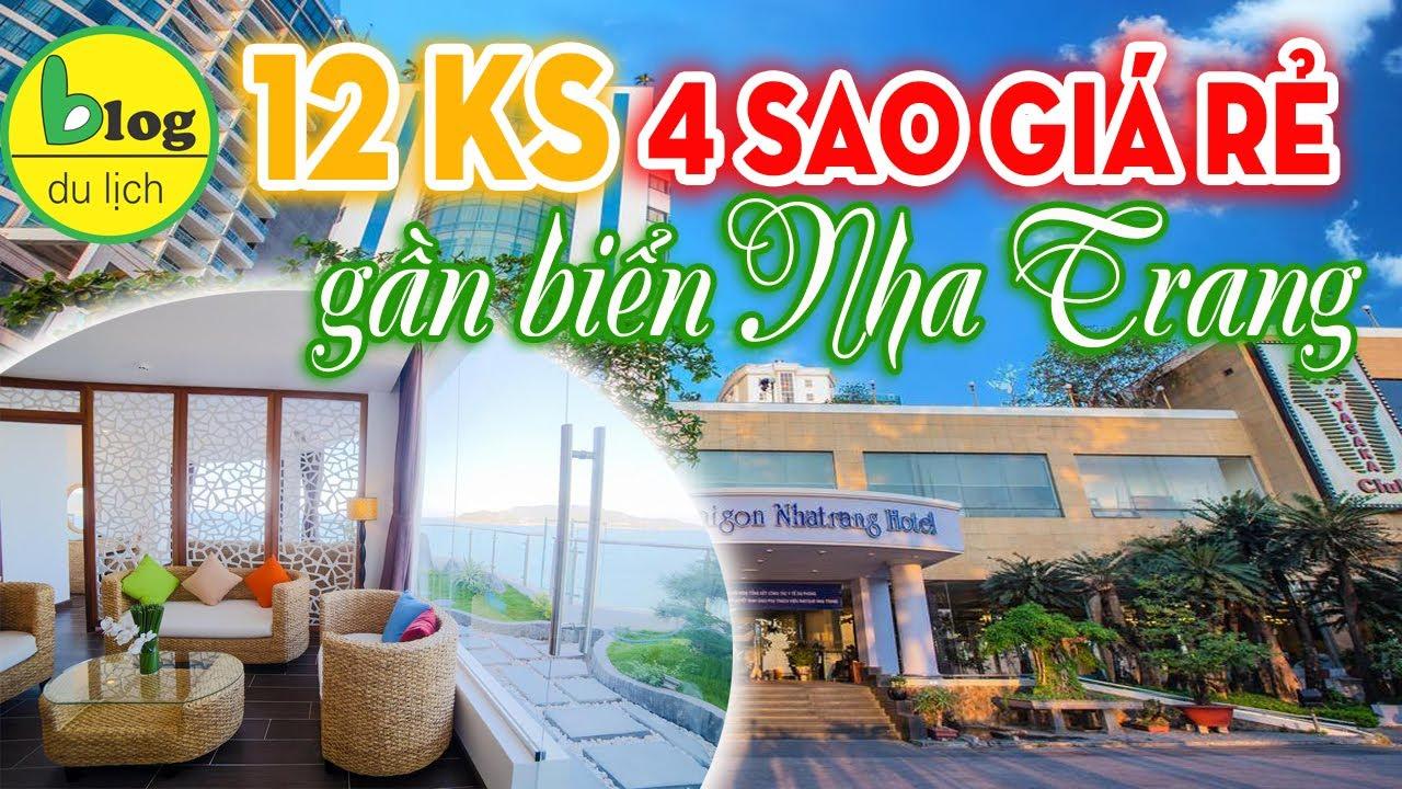 Check in 12 khách sạn 4 sao Nha Trang giá rẻ ngay gần biển