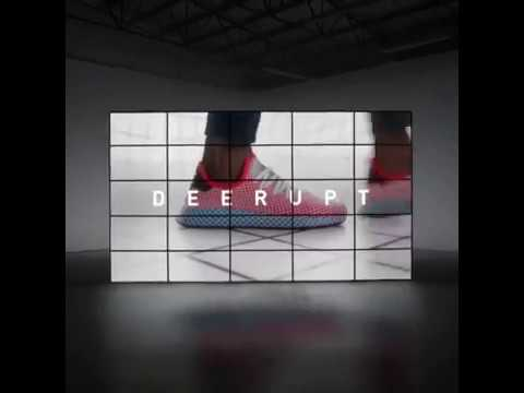 adidas introduce deerupt disruptively semplice, indiscutibile