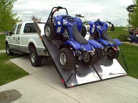 Loading 2 Atv Quot Four Wheelers Quot With Your Elevation Trailer