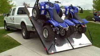"Loading 2 ATV ""four wheelers"" with your Elevation Trailer"