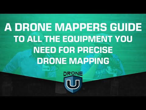 A Drone Mappers Guide To All The Equipment You Need For Precise Drone Mapping