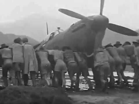 No 607 Squadron RAF, SEAC. Spitfire Mk VIII in Burma 1944-45.