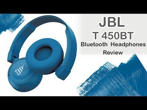 JBL T450BT On-ear Bluetooth Headphones | Review
