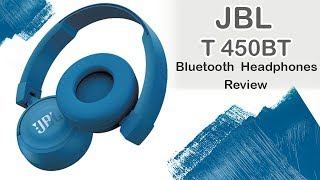 JBL T450BT On-ear Bluetooth Headphones | Review