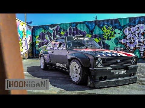 [HOONIGAN] DT 145: Ken Block's 9000rpm Escort MK2 Gymkhana Car