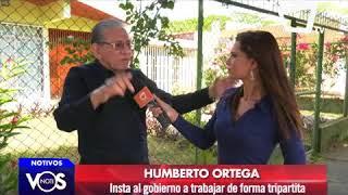 Humberto Ortega insta al gobierno de Nicaragua a trabajar de forma tripartita