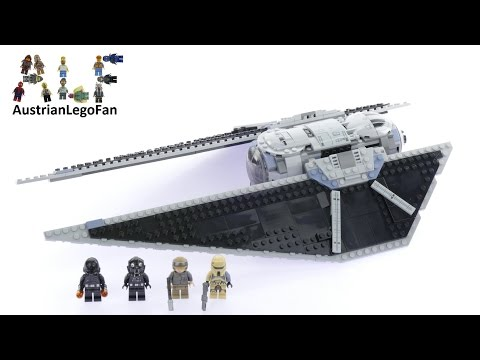 Lego Star Wars 75154 Tie Striker™ - Lego Speed Build Review