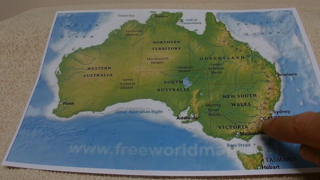 Map Of Australia Facts.Asmr Australia Australian Accent Whispering Key Facts About Australia Weather Population