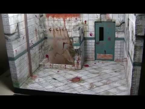 """Figures In Action"" #80: Torture Bathroom/Chamber Diorama"