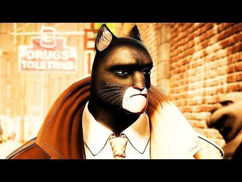 BLACKSAD UNDER THE SKIN Trailer (2019) PS4 / Xbox One / PC