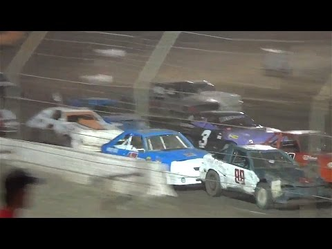 Mini Stock Main - 10-26-13 - Dirt Nationals - Hanford, CA