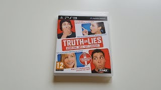 Truth or Lies PS3 Unboxing