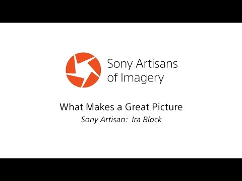 """What Makes a Great Picture"" with Ira Block l α l Sony"