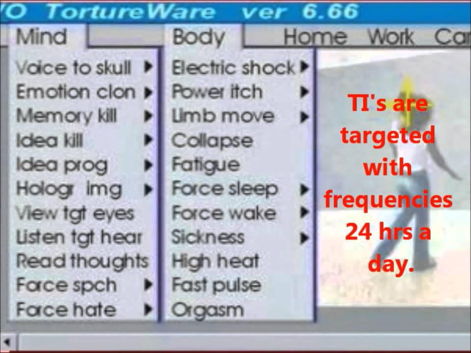 Gangstalkers Record Brain Frequencies for Torture with Electronic and  Acoustic Weapons