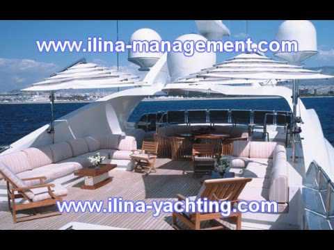 Yacht charter in Greece www.ilina-management.com
