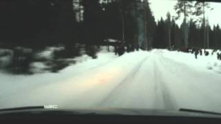 WRC Rally Sweden 2015: Stages 1-5