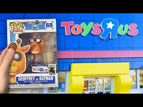 Toys R Us Funko Pop Hunting | Geoffrey As Batman Acquired!