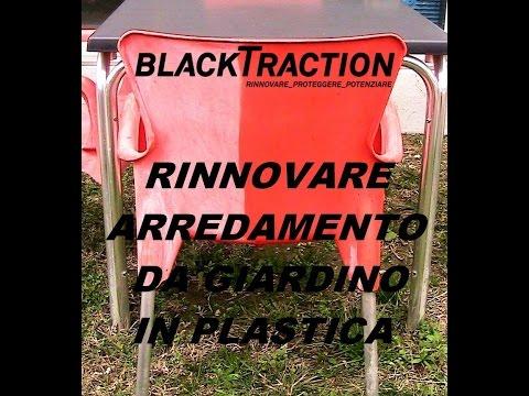 Rinnovare Sedie In Plastica.Rs Rinnovare Sedie Arredamento Plastica Da Giardino Youtube