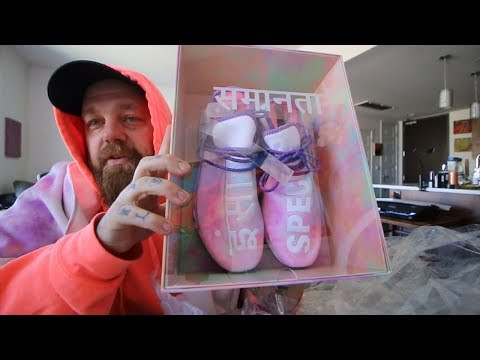A Gift from Pharrell Williams!!? (HOLI) + Crazy Ski Lift Reactions + More TRASH from Adidas!!??