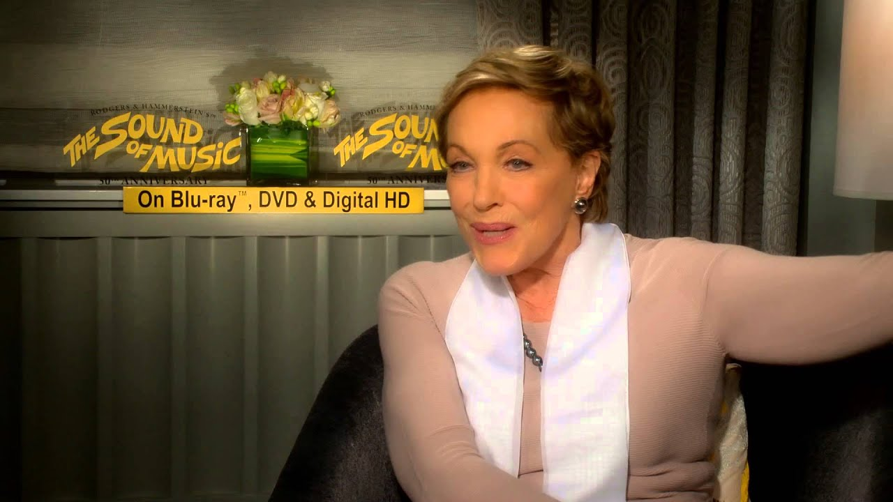 Julie Andrews Interview Part 2 - THE SOUND OF MUSIC 50th Anniversary