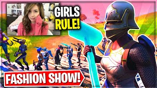 *ONLY FEMALE SKINS* Fortnite Fashion Show! Skin Competition! | BEST DRIP, COMBO & EMOTES WINS!