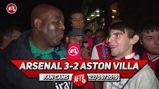 Arsenal 3-2 Aston Villa | Where Would We Be Without Aubameyang?!