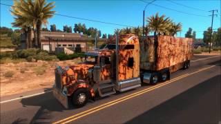Rusty trailer for american truck simulator!!