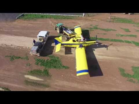 aerial crop spraying/dusting sandrivier crop (radial / turbine)