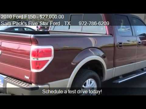 2010 ford f150 lariat for sale in carrollton tx 75006 youtube. Black Bedroom Furniture Sets. Home Design Ideas