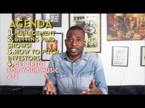 Ep. 09 - Music Management, Booking, Marketing, Investor Relations & More Intro