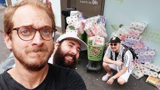 J'achète tout le PQ du supermarché (avec Anis et Freddy)