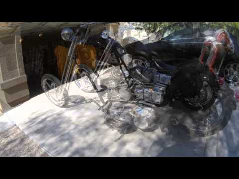 2000 DYNA Low Rider with 25 inch over Sugar Bear Front End