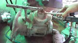 Testing of Japan air motor 5 2 KW